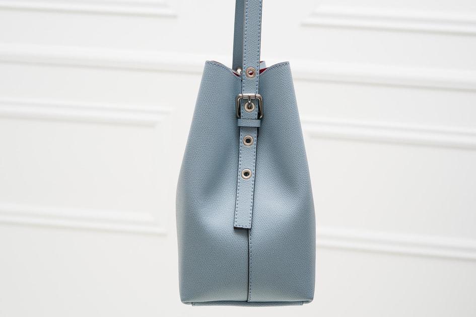 ac52545ec9 Glamadise.sk - Kožená kabelka MARIA - svetlo modrá - Glamorous by GLAM -  Cez rameno - Kožené kabelky - GLAM