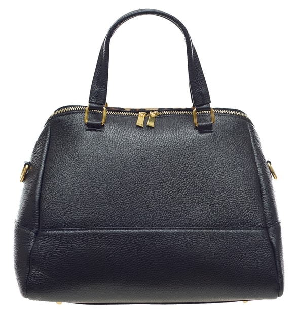 dca2a6130f Glamadise.sk - Dámska kožená kabelka So zvieracia vzorom čierna - Glamorous  by GLAM - Kožené kabelky - - GLAM