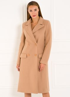 Women's coat Glamorous by Glam - Beige