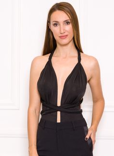 Body Due Linee - Black
