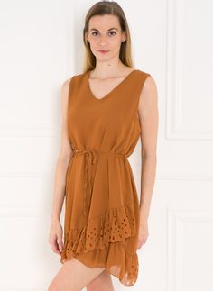 Summer dress Glamorous by Glam - Brown