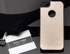 Case for iPhone 5/5S/SE Due Linee - Gold