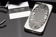 Case for iPhone 5/5S/SE Due Linee - Silver