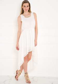 Summer dress GLAM&GLAMADISE - White