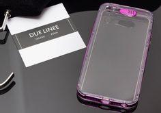 Case for iPhone 5/5S/SE Due Linee - Violet