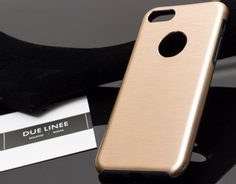 Case for iPhone 7/8 Due Linee - Gold
