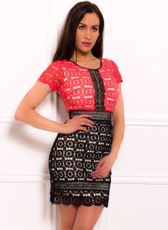 Lace dress Due Linee - Losos