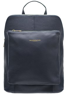 Real leather backpack Glamorous by GLAM - Dark blue