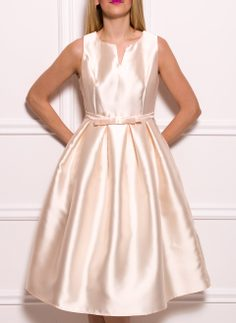 Prom dress Due Linee - Beige