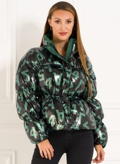 Winter jacket Due Linee - Green