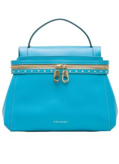 TWINSET leather handbag - Blue