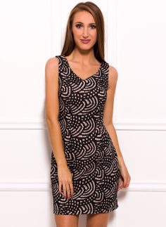 Dress for everyday Due Linee - Black