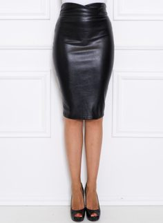 Skirt Due Linee - Black