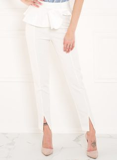 Women's trousers Glamorous by Glam - White