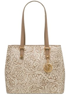Real leather shoulder bag Glamorous by GLAM - Beige