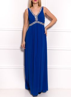 Maxi dress Due Linee - Blue