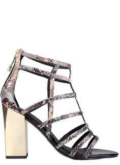 Women's sandals Versace jeans - Black
