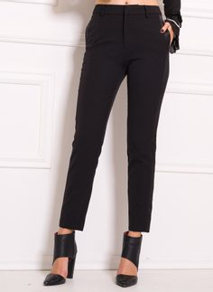 Women's trousers Due Linee - Black