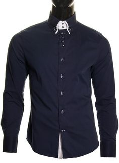 Men's shirt  - Dark blue
