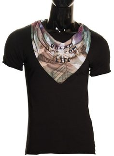 Men's t-shirt Glamorous by Glam - Black
