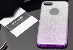 Case for iPhone 7/8 Due Linee - Violet