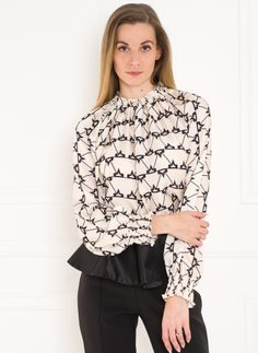 Women's top Glamorous by Glam - Black-white
