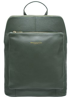 Real leather backpack Glamorous by GLAM - Green