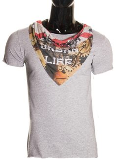 Men's t-shirt  - Grey