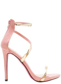 Women's sandals GLAM&GLAMADISE - Pink