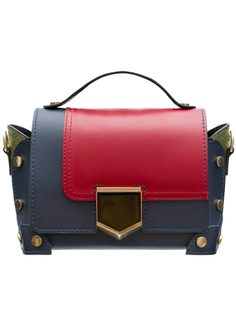 Real leather crossbody bag Glamorous by GLAM - Multi-color