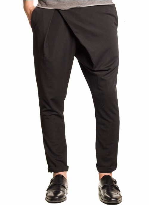 Men's trousers  - Black