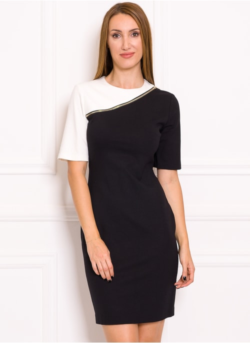 Italian dress Tru Trussardi - Black-white