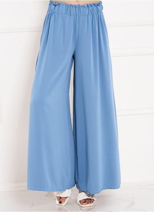 Women's trousers CIUSA SEMPLICE - Blue