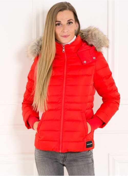 Winter jacket Calvin Klein - Orange