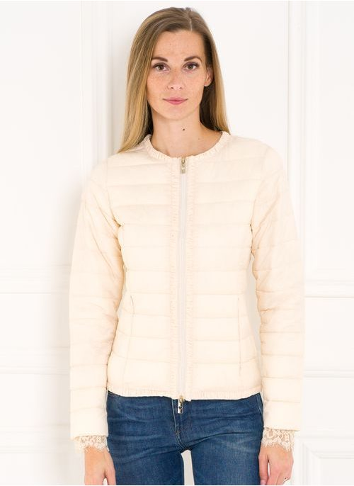 Women's winter jacket TWINSET - White