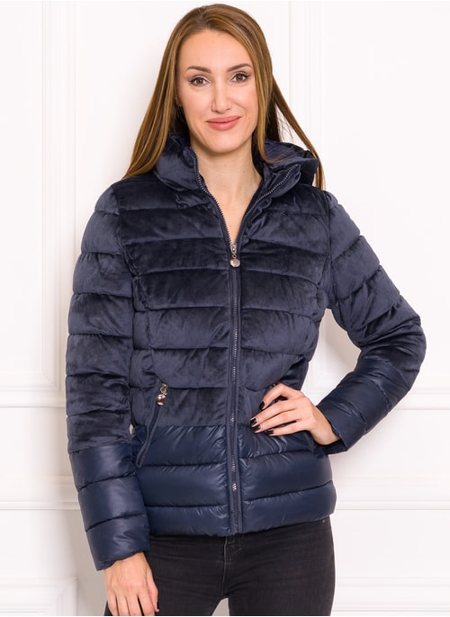 Due Linee Women's winter jacket - Dark blue