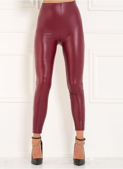 Women's trousers Due Linee - Wine
