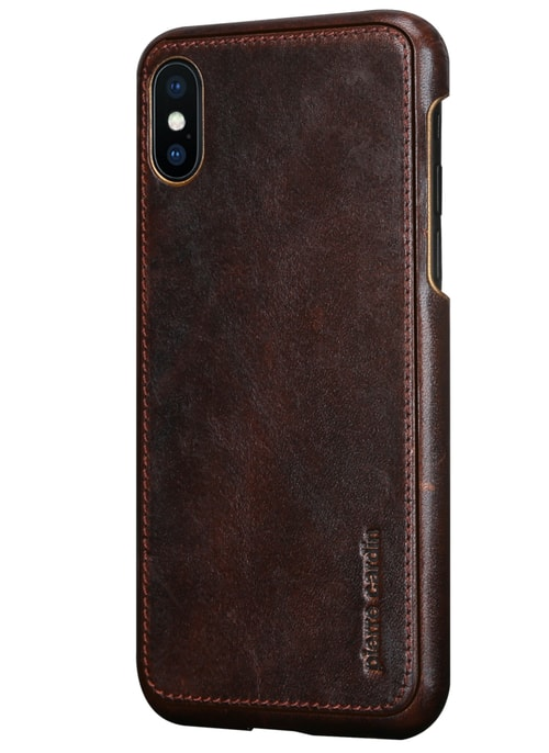Case for iPhone X Pierre Cardin - Brown
