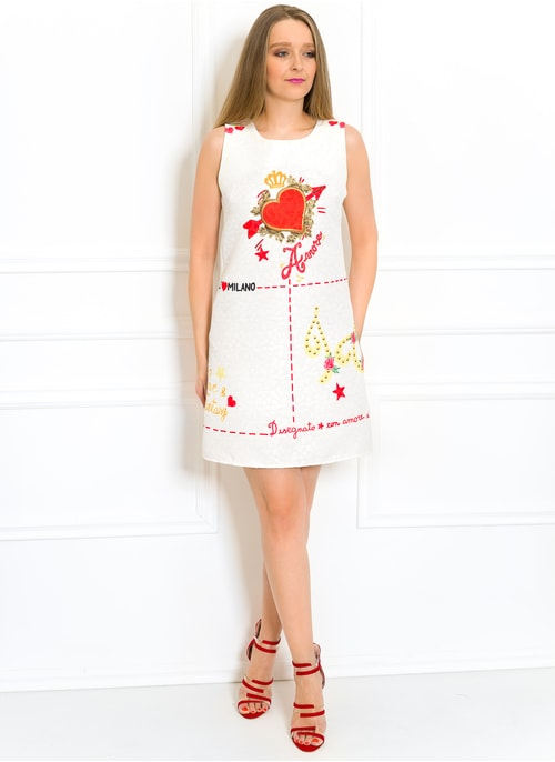 7e15f5a631 Exkluzivní šaty bílé Amore Exkluzivní šaty bílé Amore