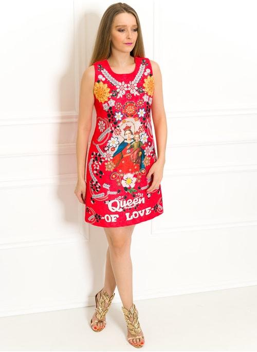 53faecb3a618 Exkluzivní šaty Queen of love červené Exkluzivní šaty Queen of love červené