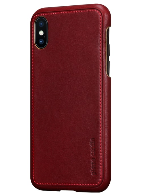 Case for iPhone X Pierre Cardin - Wine