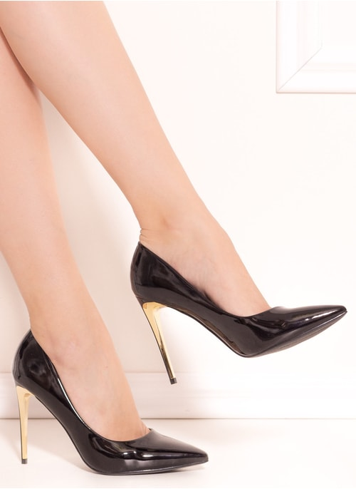 High heels GLAM&GLAMADISE - Black