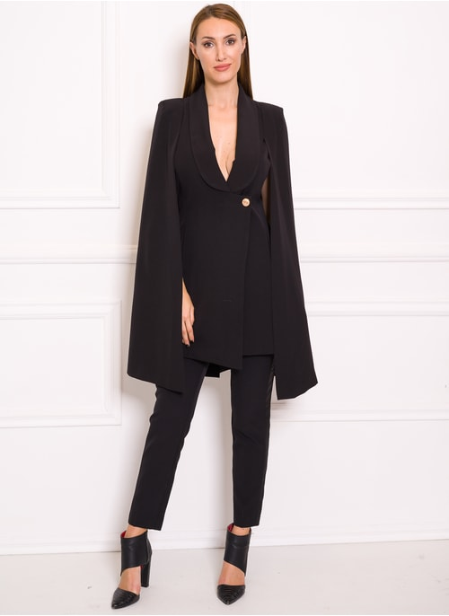 Women's blazer Due Linee - Black