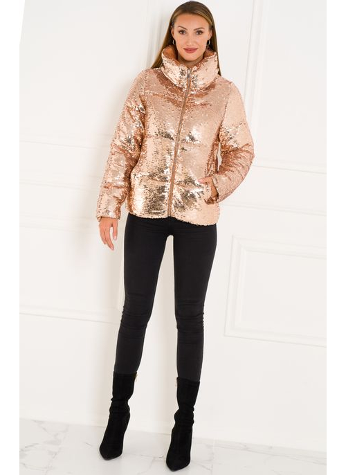Winter jacket Due Linee - Gold