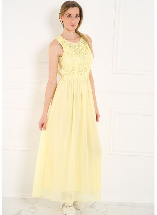 Summer dress GLAM&GLAMADISE - Yellow