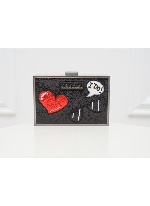 Women's clutch Love Moschino - Black