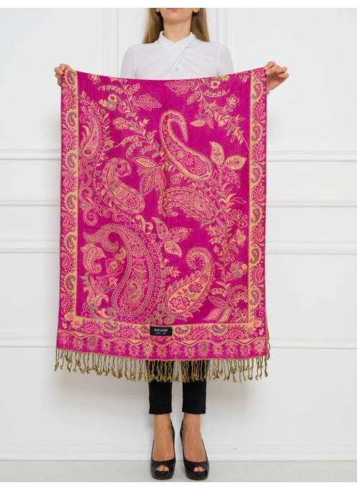 Women's scarf Due Linee - Pink
