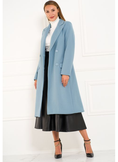 Women's coat Glamorous by Glam - Blue