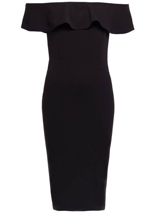 Italian dress Due Linee - Black