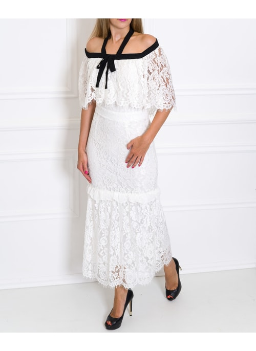 Midi dress Due Linee - White